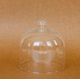 Cúpula de vidro larga P/M