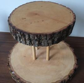 Suporte madeira duplo