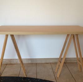 Tampo mesa madeira 1,40m