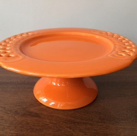 Suporte trançado M laranja
