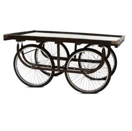 Mesa de rodas de bicicleta