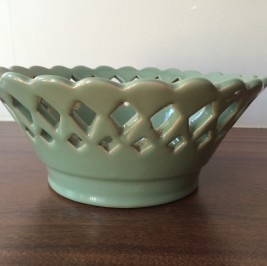 Cesto Rechilie verde celadon
