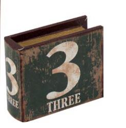 Caixa Number 3  Verde