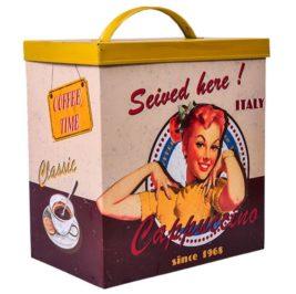 Lata Vintage Amarela