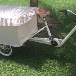 Mesa Bicicleta Retrô
