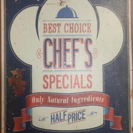 Placa Chef
