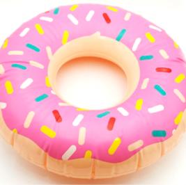 Donut Inflável Rosa
