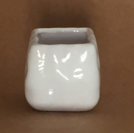 Mini vaso Branco