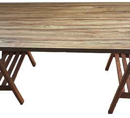 Tampo mesa madeira 1,60m