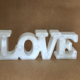 Luminoso Love Branco